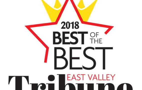 BEST OF THE BEST East Valley Tribune Logo